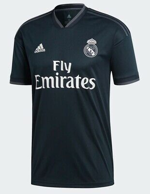ADIDAS REAL MADRID AWAY MENS SOCCER JERSEY CG0584 SIZE L AUTHENTIC NEW NWT
