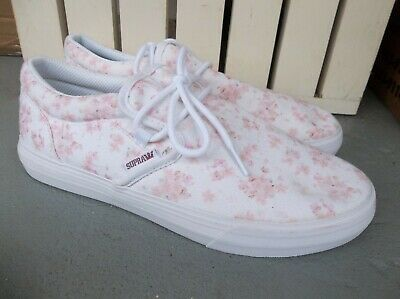 NWT MENS SUPRA CUBA CHERRY BLOSSOM SNEAKERSSHOES SIZE 9-BRAND NEW FOR 2020