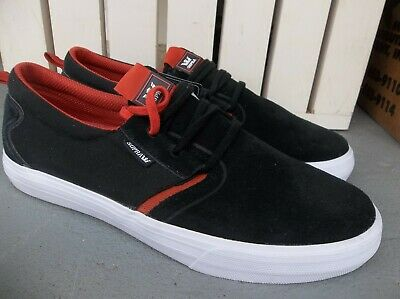 NWT MENS SUPRA FLOW SNEAKERSSHOES SIZE 9-BLACK-BRAND NEW FOR 2020 SALE