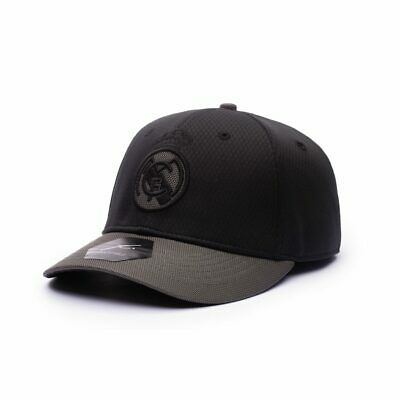 REAL MADRID SHADOW BLACK PREMIUM BASEBALL HAT OFFICIALLY LICENSED Fi COLLECTION