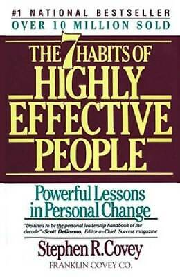The 7 Habits of Highly Effective People - Paperback By Covey Stephen R- - GOOD