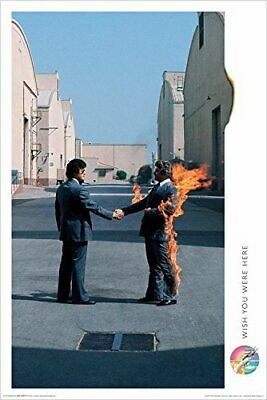Pink Floyd Wish You were Here 36x24 Music Art Print Poster