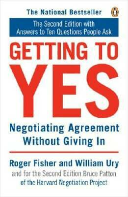 Getting to Yes Negotiating Agreement Without Giving In - Paperback - GOOD