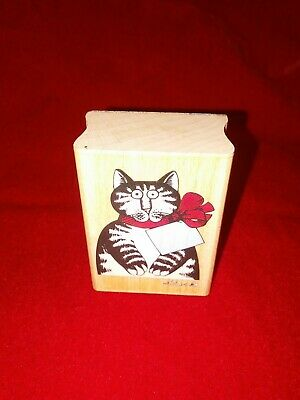 KLIBAN CAT RUBBER STAMP
