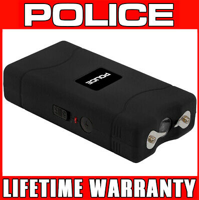 STUN GUN POLICE 800 100 BV Mini Rechargeable LED Flashlight