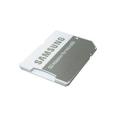 LOT OF 25 SAMSUNG SD ADAPTER FOR MICROSD WHITE