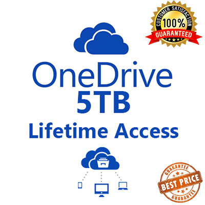 OneDrive 5TB Lifetime Account - Best Price - Instant Delivery