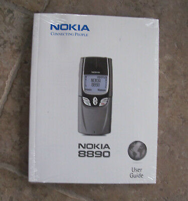 NEW SEALED RARE VINTAGE Nokia 8890 Cell Phone MANUAL ONLY