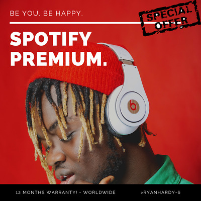 ✅ Spotify Premium  Fast delivery  12 months warranty  Worldwide