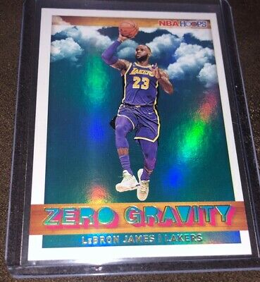 2019-20 Panini Hoops Zero Gravity Holo 18 LEBRON JAMES Los Angeles Lakers Mint