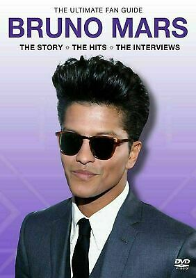 Bruno Mars The Ultimate Fan Guide DVD New and Factory Sealed