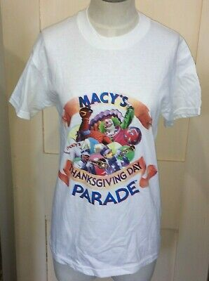 VTG Macys Thanksgiving Day ParadeClown T-Shirt Size Youth Large 14-16 Delta