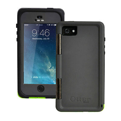 New Otterbox Armor Series Waterproof Phone Case For Apple iPhone 55S Green