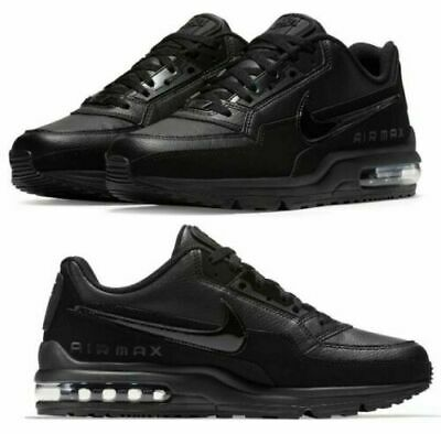 Nike Air Max LTD 3 Triple Black 687977-020 Running Shoes Mens Multi Size NEW