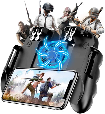 Mobile Game Controller with Cooling Fan for PUBGCall of DutyFortnite Gaming