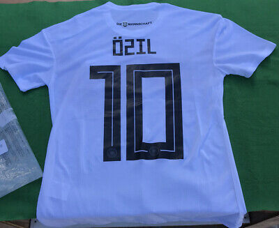 201819 Germany Home Jersey 10 Ozil Size Small S World Cup Soccer Deutschland