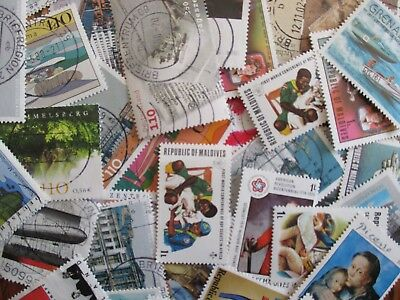 HENRYS STAMPS - 100 DIFFERENT WORLDWIDE - CTOS PICTORIALS TOPICALS - LARGE -