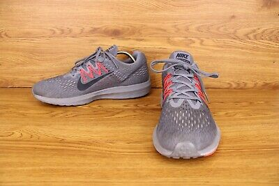 Nike Zoom Winflo 5 Gray Athletic Road Running Sneakers Mens Size 12 Shoes