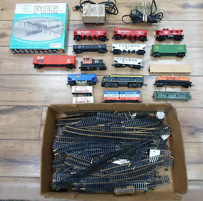 LOT OF TRAINS AND ACCESSORIES