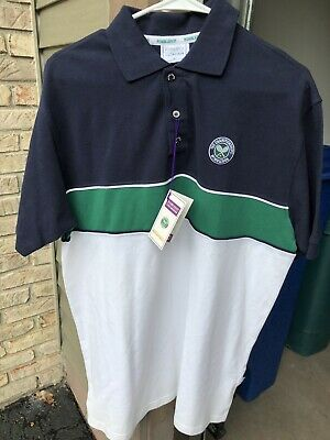 NWT • Wimbledon • The Championships • Men's Large Polo Shirt