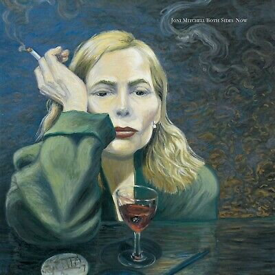 Joni Mitchell - Both Sides Now 2000 Album Cover Canvas Wall Pop Art Poster Print