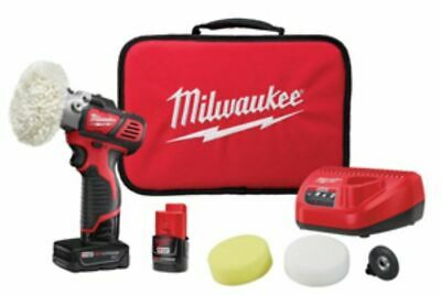 Milwaukee 2438-22X M12 Variable Speed Polisher Sander Kit NEW