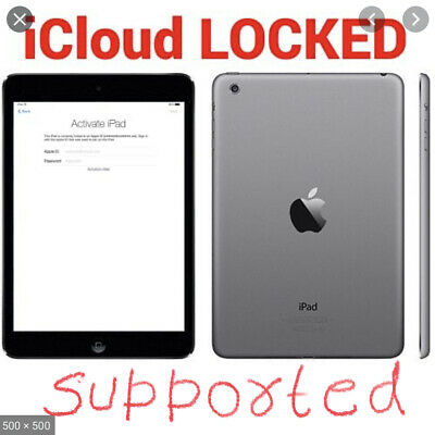 Apple iCloud Activation lock Bypass  Removal service - All Apple iPads Support