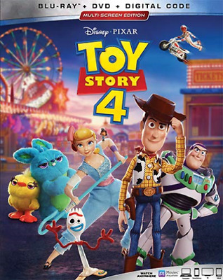Toy Story 4 Blu-ray Disc 2019 3Disc