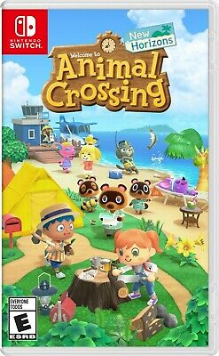 Animal Crossing New Horizons Game Standard Edition Nintendo Switch 2020 SEALED