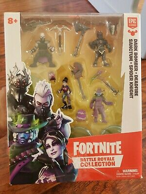 Fortnite Battle Royale Collection Squad Pack 4 figurines