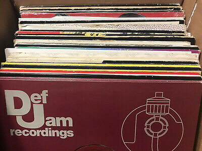 Hip Hop Vinyl Lot of 10 Rap Records - Instant DJ Collection 1990s to 2000s 12