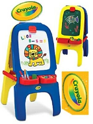 Crayola 3 in 1 Double-Sided Magnetic Easel 77 Letters Numbers Fun Educational