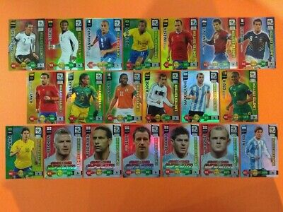 Panini Adrenalyn XL World Cup South Africa 2010 limited edition choice cards