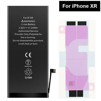 Replacement Battery For Apple iPhone XR 2942mAh High quality With Tape