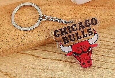 NBA Keychain NEW Chicago Bulls
