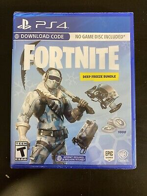 Fortnite Deep Freeze Game Bundle PlayStation 4 PS4 1000 V-Bucks New Sealed