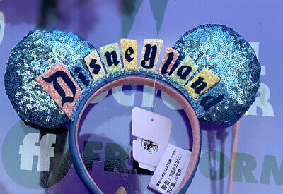 NewDisneyland Sign Logo Marquee Happiest Place On Earth Ear Headband