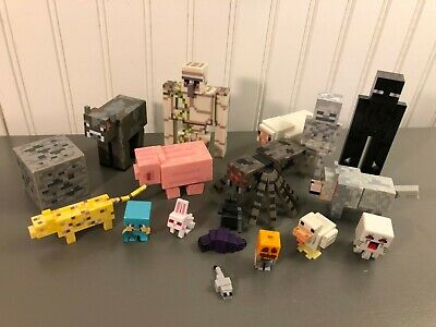 Mojang Minecraft Action Figure Lot of 18 Enderman