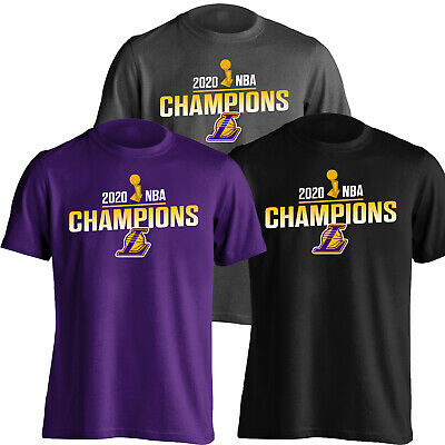 Los Angeles Lakers 2020 NBA Champions T- Shirt - 3 Colors Shirt - S-5XL