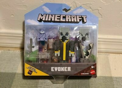 2019 Mattel Minecraft Comic Maker EVOKER Action Figure