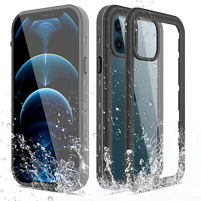 For iPhone 12 Pro12 mini12 Pro Max 5G Waterproof Case Cover wScreen Protector