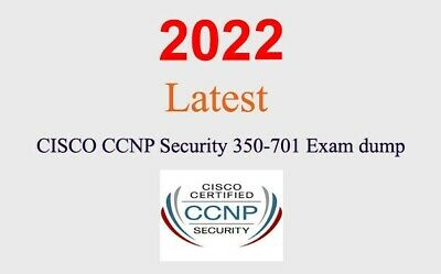 Cisco CCNP Security 350-701 dump latest questions 1 month update