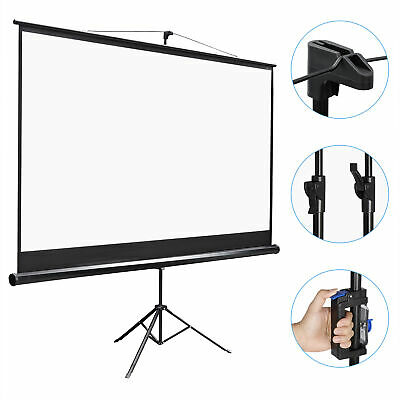 Projector Screen with Stand 100 inch Portable Projection Screen 169 4K HD
