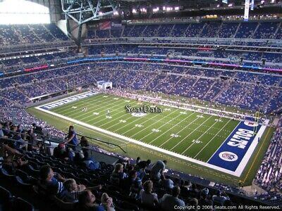 2 Indianapolis Colts PSL Season Ticket Rights FRONT ROW Terrace Section 608