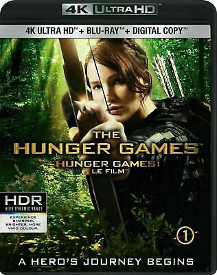 The Hunger Games 4K-Blu-ray New and Factory Sealed