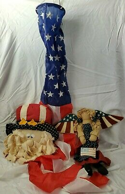 Vintage 4th of july decorations lot
