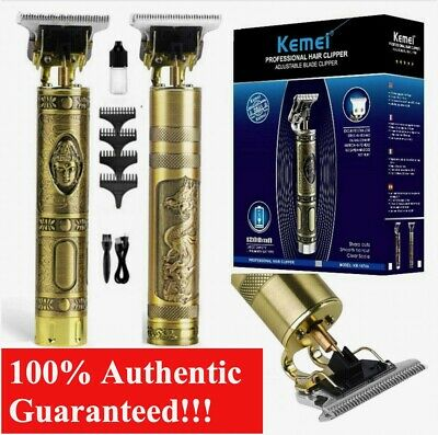 Genuine KEMEI 1974a Cordless Hair Clippers Trimmer Shaving Cutting Beard Barber