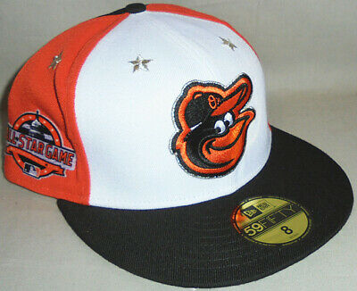 -NWT-2018 -Baltimore Orioles- Baseball All-Star Game New Era 59Fifty Fitted Hat