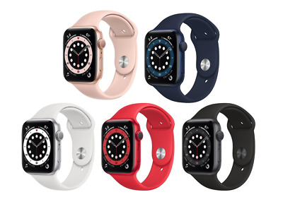 NEW - Apple Watch Series 6 40MM GPS W Blood Oxygen Monitor - Choose Color