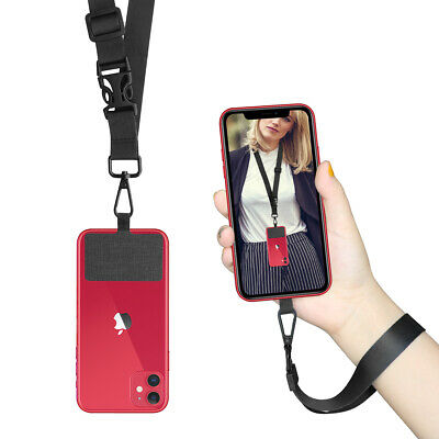 ROCONTRIP Cell Phone Lanyard Wrist Strap with Nylon Patch for Smartphones